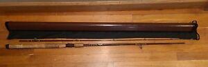 """FENWICK Woodstream FS79 7'-9"""" Spinning Fishing Rod & Bag & FENWICK Rod Tube Case"""
