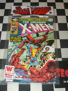 WHITMAN 3 COMICS SUPER BAG SEALED X-MEN 129 DEFENDERS 86 FIRST KITTY PRYDE NM