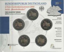 Pièces euro d'Allemagne Année 2010 10 Euro