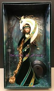 """Lady Of The Unicorn Barbie Doll by Designer Bob Mackie Exclusive Gold Label """""""