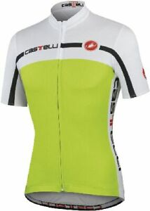 Castelli Velocissimo Men's Short Sleeve Cycling Jersey Green size Large