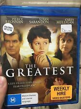 The Greatest ex-rental blu ray (2009 Pierce Brosnan drama movie) ** cheap **