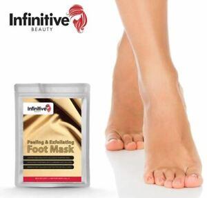 Exfoliating Peel Foot Sock Mask Baby Soft Feet Removes Dead Skin UK STOCK