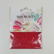 *** (0,68€/1g) 1,5 g Glitter Glitzer Nailglitter - Rot Edel - für Nailart