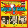 "ROCK 'N' ROLL ORIGINAL RECORDINGS FATS DOMINO JERRY LEE LEWIS 12"" LP (B610)"