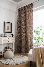 Boho Printed Curtains Tassel Curtain Living Room Bedroom Window Screen Panel New