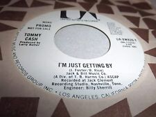TOMMY CASH-I'M JUST GETTING BY-UA XW826-Y-STEREO/MONO NM 45