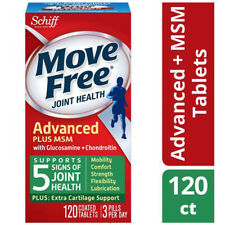 Move Free advanced plus MSM joint health supplement with glucosamine chondroitin