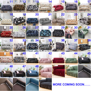 Stretch Fit Sofa Cover Lounge Couch Slipcover Recliner Protector 1/2/3/4 Seaters