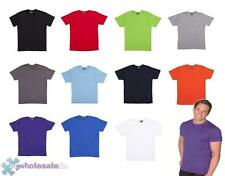 Cotton Short Sleeve Solid Basic Tees for Men