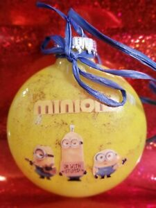 Handmade Completed Minions Ornament