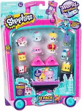 Shopkins World Vacation Toy Set -12 Pack