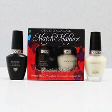 CUCCIO Veneer Match Makers Duo Kit 0.43oz - 6151 BRINDISI AS 1,2,3 (White Sheer)