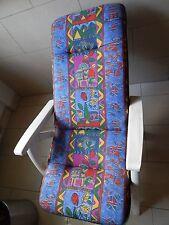 2 Sitzauflagen für Hochlehner ca. 118 x 49 cm mit passender Tragetasche von TCM