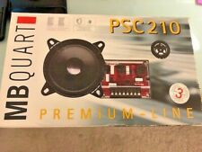 MB Quart PSC210 Component Car Speakers - New Never Installed Complete Set.