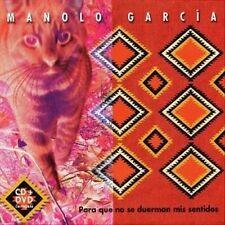 Para Que No Se Duerman Mis Sentidos by Manolo Garcia CD Mar-2005, Ariola Germany