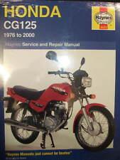 HAYNES WORKSHOP MANUAL FOR A HONDA CG125