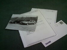 1988 1989 SAAB 900 9000 TUNING TECNIK INFORMATION PACK UK BROCHURE Sevenoaks