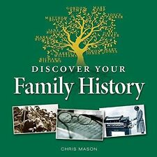 Discover Your Family History (Little Book), Chris Mason   Hardcover Book   Very