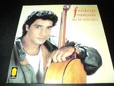 """CD """"QUI DE NOUS DEUX"""" Frederic FRANCOIS / 10 titres"""