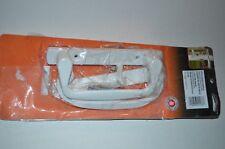 White Sliding Patio Glass Door Pull Lock Handle Set Mortise Low Profile