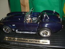 1/18 Yat Ming 1964 Shelby Cobra 427 S/C in royal blue