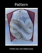 Infinity Book Folding PATTERN to create your own folded book art