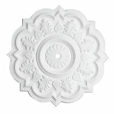 Victorian Queen Ann Reproduction Classical Plaster Ceiling Medallion