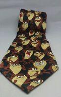 Tasmanian Devil Taz Mens Tie Warner Bros Looney Tunes 2002 polyester Expressions