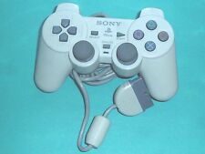 ORIGINAL Sony PLAYSTATION 1CONTROLLER SCPH-110 DualShock White