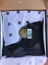 Original SWAT Size 15 Black  Side Zip Combat Boots Mens Shoes