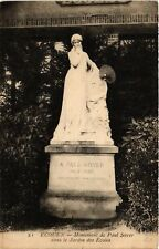 CPA   Écouen - Monument de Paul Soyer dans le Jardin des Ecoles   (519932)