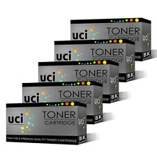 5 Black Toner Cartridge For Brother TN1050 DCP-1510 1512 1610W 1612W MFC1810
