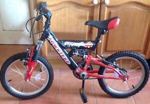 """16"""" wheel full suspension bike"""