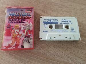 MC EUROPA Hörspiel Kassette He-Man Masters of the Universe Folge 34 *1A Top ~