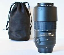 Nikon Nikkor AF 55-300mm F/4.5-5.6 DX - MINT with KOOD filter & lens pouch