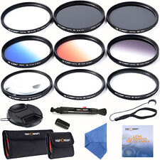 K&F Concept 77mm Lens Filter Kit Slim UV CPL Graduate ND4 Close-up 6 Point Star