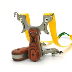 FIONDA PROFESSIONALE con MIRINO caccia BERSAGLIO SICURO catapulta alta qualità