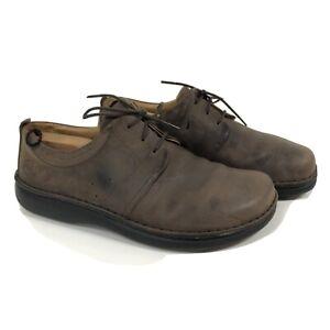 Birkenstock Footprints Mens 42 Brown Leather Loafer