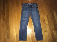 Aeropostale Women's Denim Blue Jean Cropped Capri Pants Size 00