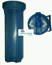 "Transparent blue 10"" Pre-Filter housing bowel  Filter RO,UV,Water Purier[089]"