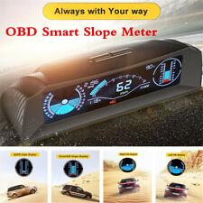 Car OBD2 Smart Slope Meter Inclinometer Multi-functional Speedometer HUD Meter
