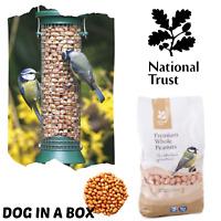 National Trust Hanging Wild Bird Peanut Feeder Plastic Garden Feeding Station