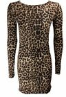 Donna COLPO maculato con teschio svasato vestito stile pattinatrice / SWING