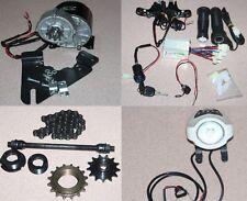 24V 350W DIY Electric Bike Accessories Conversion Kit Geared Brushed Motor EBike
