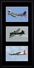 Boeing B17 Flying Fortress Framed Photographs PB0618