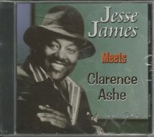 JESSIE JAMES - Meets Clarence Ashe - BRAND NEW - CD