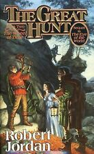 THE GREAT HUNT Wheel of Time Book 2 by Robert Jordan paperback FREE SHIPPING