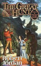 Wheel of Time #2: The Great Hunt by Robert Jordan (1991, Mass Market Paperback)