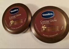 Vaseline Intensive Care Cocoa Glow Body Cream 2.53 oz. Lot of 2 Moisture Care